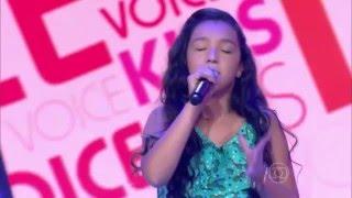 Kailane Frauches canta 'Olha o que o amor me faz' no The Voice Kids - Audiçõe|1ª Temporada