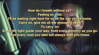 Charlie Puth - See You Again (Without Wiz Khalifa) [lyrics]