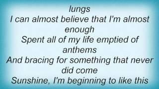 Matt Nathanson - Suspended Lyrics
