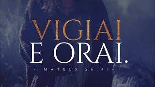VIGIAI O TEMPO TODO, devocional Profética, palavra cheia de unção de Deus, Pastor Rodrigo Ortunho