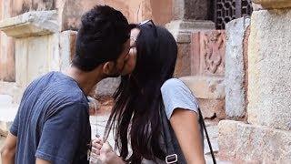 Kissing Prank India | AVRprankTV width=