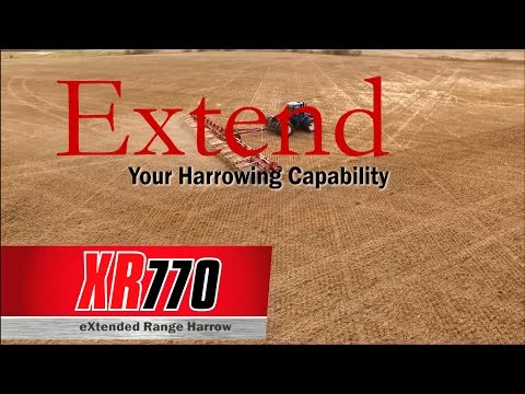 Bourgault XR 770 eXtended Range Harrow