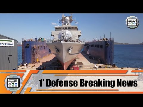 Hellenic Navy commissions 6th Super Vita-class fast attacking crafts 1' Defense Breaking News
