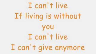 Without you lyrics- Mariah Carey