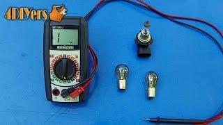 DIY: Testing a Light Bulb