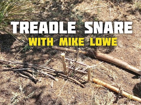 Treadle Snare, Featuring Mike Lowe From History Channel's Alone Show