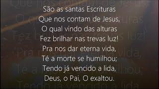 Hino 322 - Harpa Cristã - As Santas Escrituras