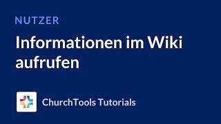 Informationen im Wiki aufrufen