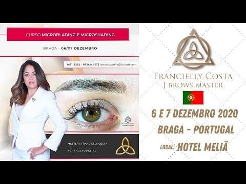 Curso Microblading & Microshading - 6 e 7 de Dezembro 2020 - Francielly Costa