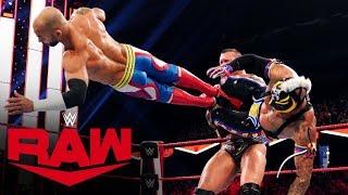 Rey Mysterio vs. Ricochet vs. Randy Orton vs. Drew McIntyre: Raw, Nov. 25, 2019