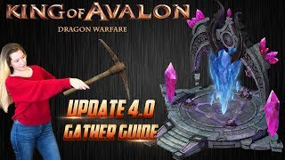 King of Avalon: Dragon Warfare - Magic Spire PvP - Update 4.0