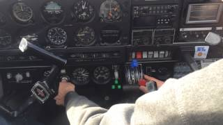 PA28R (Piper Arrow) Starting engine procedure.