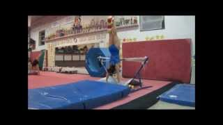 Gymnastics With a Broken Leg