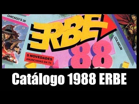 1988 ERBE SOFTWARE CATALOGO VHS