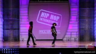 """LES TWINS 2012 World Hip Hop Intl. Performance """"SWAGG"""""""