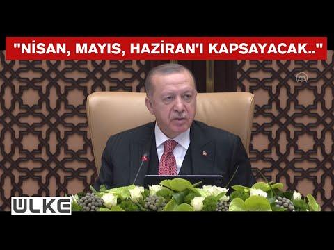 Cumhurbaşkanı Erdoğan duyurdu: Kısa çalışma ödeneği devam edecek
