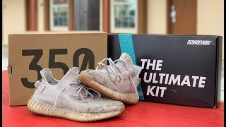 b7be5a149d180 Cleaning Yeezy Boost 350 V2  Sesame  with Reshoevn8r
