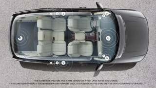 Land Rover – Meridian Surround Sound System