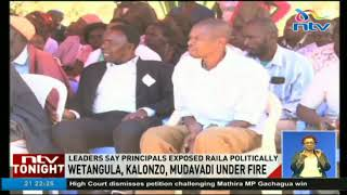 Wetangula, Kalonzo and Mudavadi under fire for missing Raila's 'swearing in'