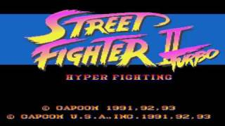 Street Fighter II Turbo Snes Music - Guile Stage