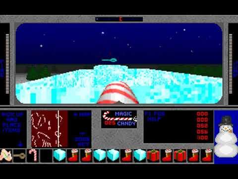 3D Xmas Adventure: Santa's Rescue (Pie in the Sky Software) (MS-DOS) [1996]