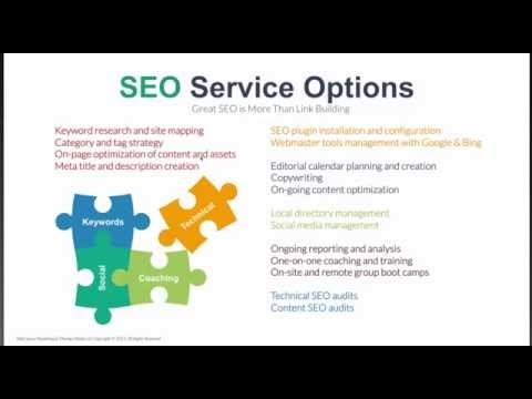 SEO Week Day Four: Selling SEO Services