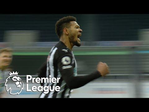 Joelinton penalty pulls Newcastle level with Manchester City | Premier League | NBC Sports