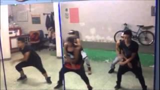 Clase de reggaeton(guaya-daddy yankee y arcangel) Rhythms Factory Studio Mexico