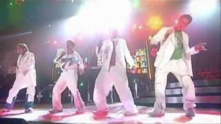 Westlife Do you love me & Twist and shout The Greatest Hits Tour