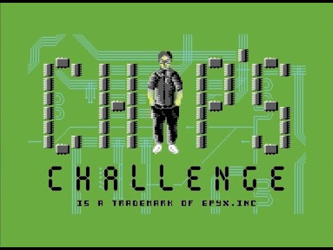 Chip's Challenge (Commodore 64) - Review de RETROJuegos por Fabio Didone