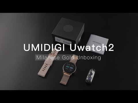 UMIDIGI Uwatch2: Milanese Gold Edition Unboxing