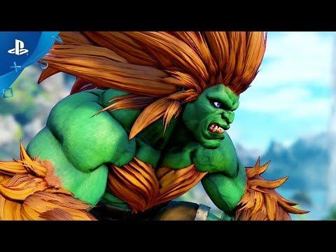 Street Fighter V: Arcade Edition – Blanka Gameplay Trailer | PS4