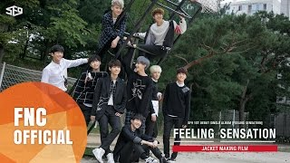 SF9 - 1ST DEBUT SINGLE ALBUM「Feeling Sensation」Jacket Making Film