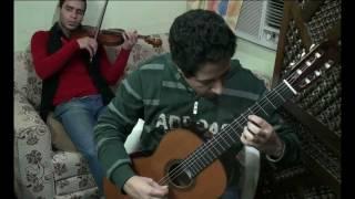 "Fransisco Tarrega ""Lagrima"" Violin and Guitar Duet"
