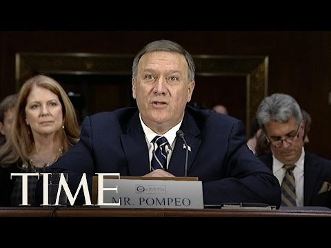 Mike Pompeo Takes Stand Against Russia At Confirmation Hearing   TIME