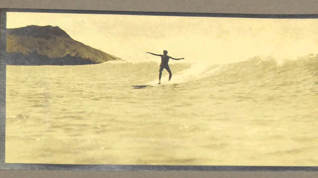 Vintage Surf Auction  - The Surf Riders of Hawaii, 1914, by A.R. Gurrey Jr