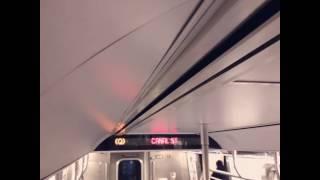 Charlie Pellet's Canal Street bound (Q) Train announcement