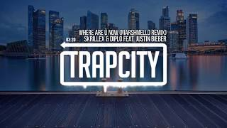 Skrillex & Diplo - Where Are Ü Now (feat. Justin Bieber) (Marshmello Remix)