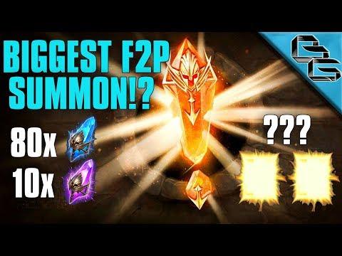 RAID: Shadow Legends | BIGGEST F2P Summon Rush !!! | Finally a LEGENDARY !?! | Ep.4