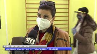 CROTONE: SCREENING ANTIGENICO ALL'ISTITUTO CUTULI