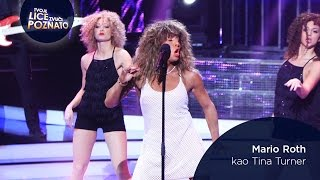 Mario Roth kao Tina Turner: Simply The Best