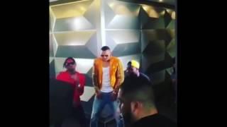 Diamond, Mohombi, Davido na Lumino washoot video ya remix ya Rockonolo Gabon