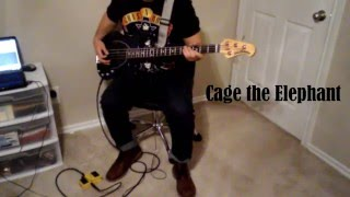 Cage The Elephant - Mess Around (Bass Cover)