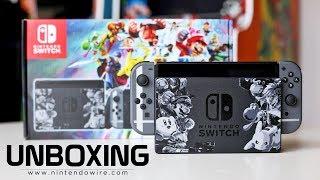 Unboxing | Super Smash Bros. Ultimate Nintendo Switch Bundle