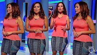 Adriana Monsalve Falda Gris