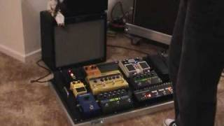 U2 Mysterious Ways (Pedalboard sounds without a Korg A3 effect)