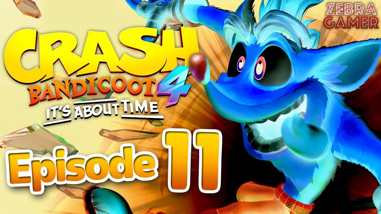 Zebra Gamer - Crash Bandicoot 4: It's About Time Gameplay Walkthrough Part 11 -  N Verted Levels! N Sanity Island!