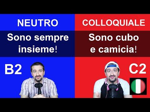 Parla l'italiano COLLOQUIALE! Impara queste 4 frasi!