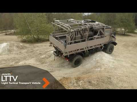 DSEI 2021 Jankel presents its full range of armored and tactical vehicles LTTV TUV Fox RRV