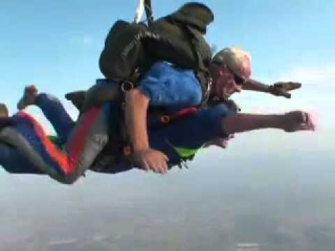 Brad and Kate Tandem SkyDiving at SkyDive Rustenburg South Africa
